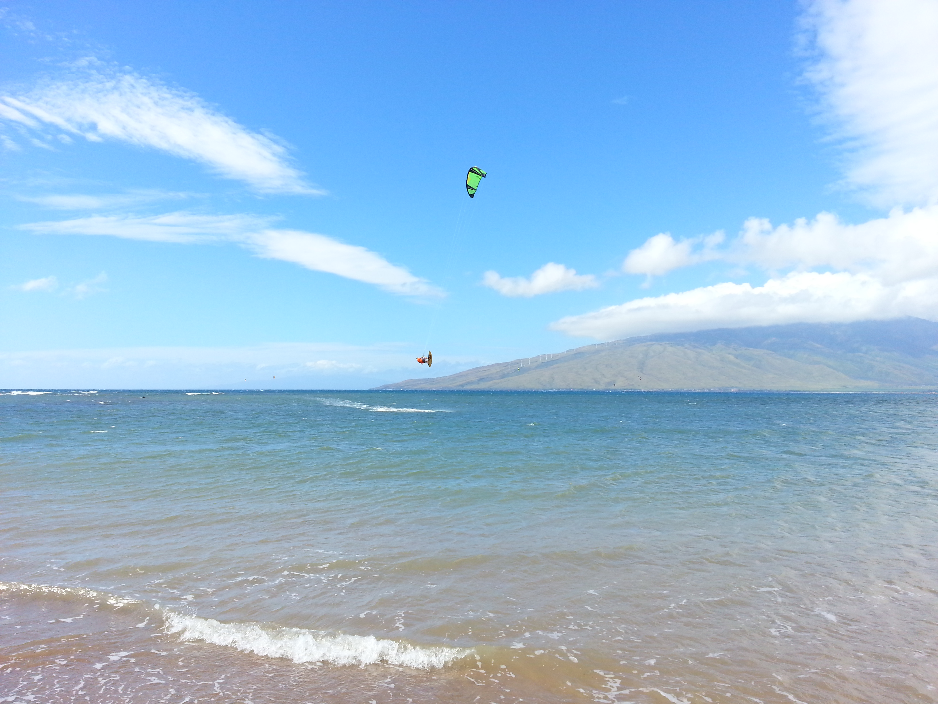 Windsurfing on Maui