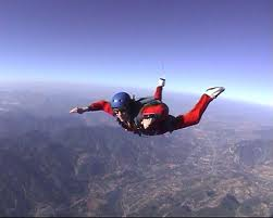Jim Carey Skydiving