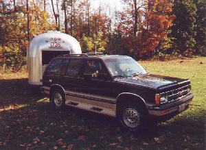 Blazer and Airstream